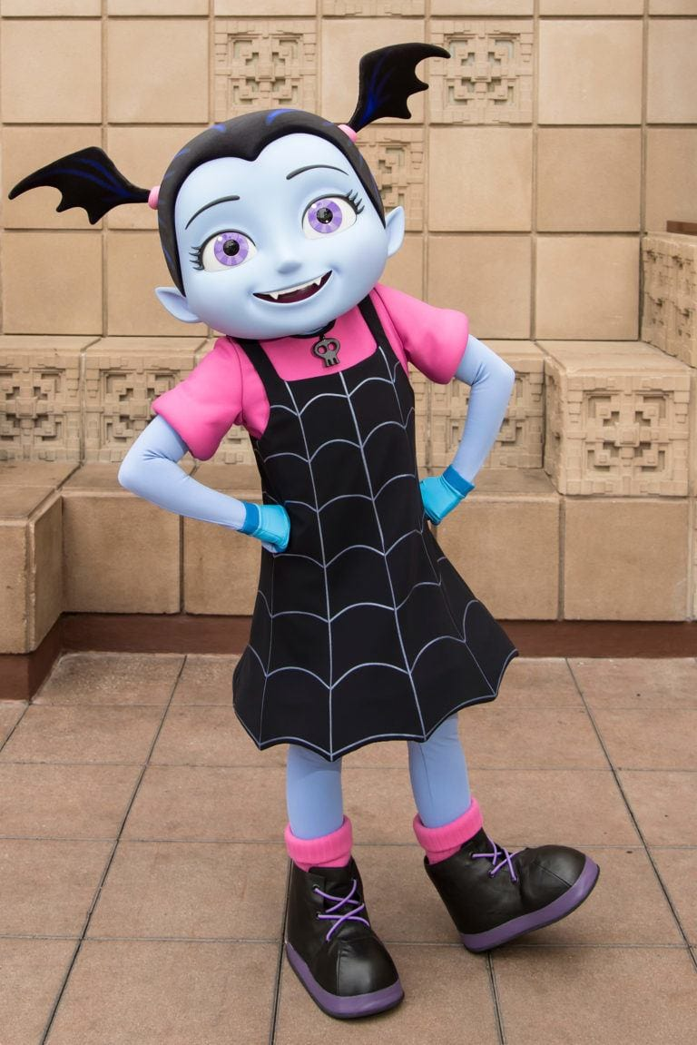 Pose with Vampirina this year at Mickey's Halloween Party