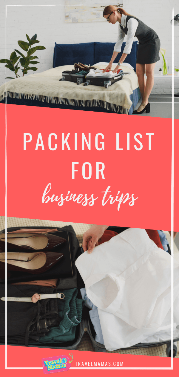 Printable Packing List for Business Trips