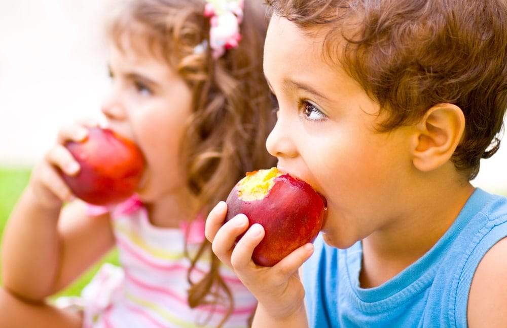 Keep kids distracted with food at the airport