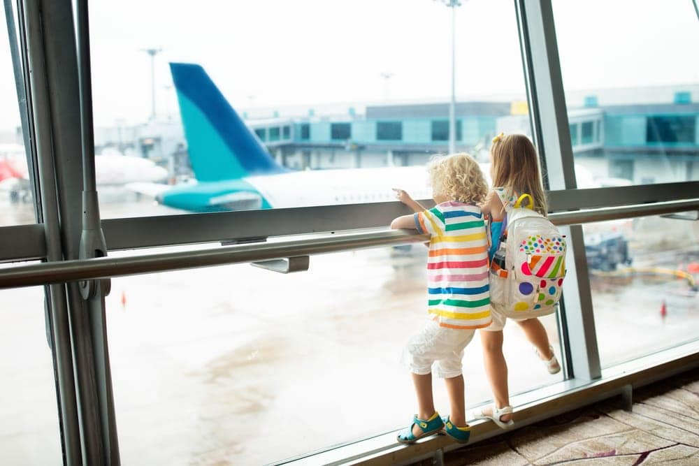 Follow airport security with kids tips