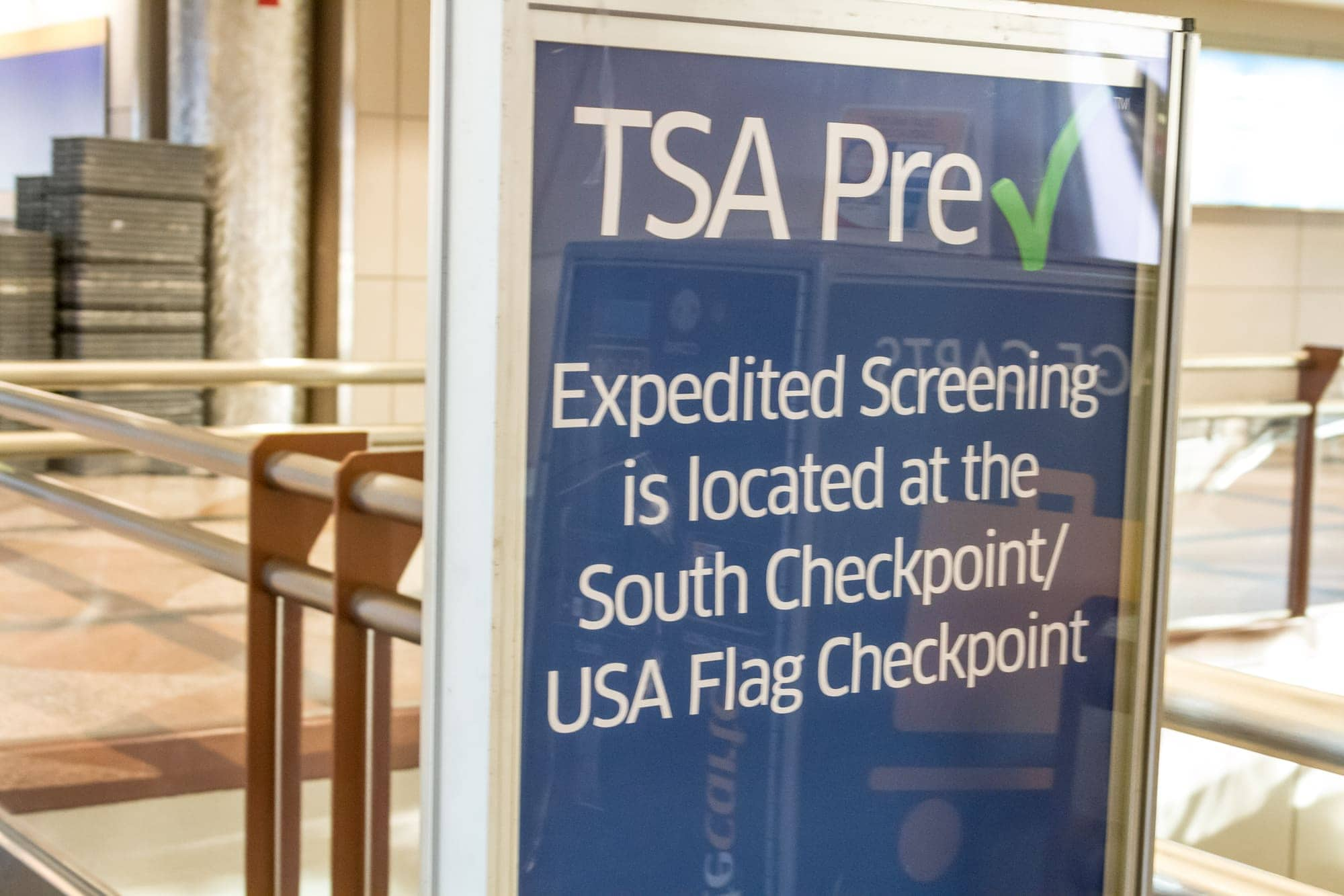 TSA Pre Check helps parents breeze through airport security with children