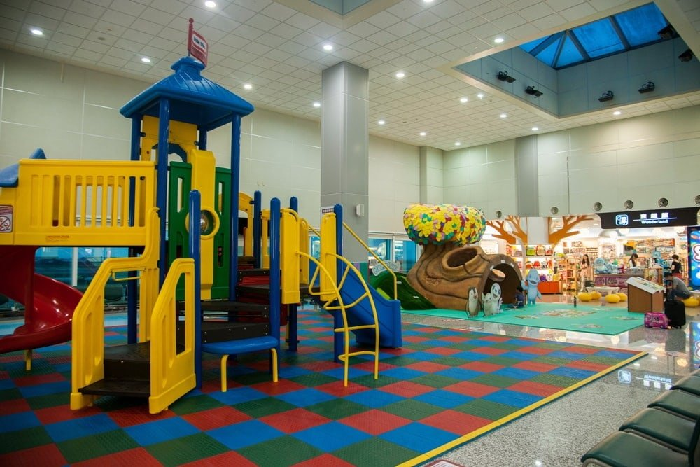The quicker you can get through airport security with kids, the more play airport play time your family will have