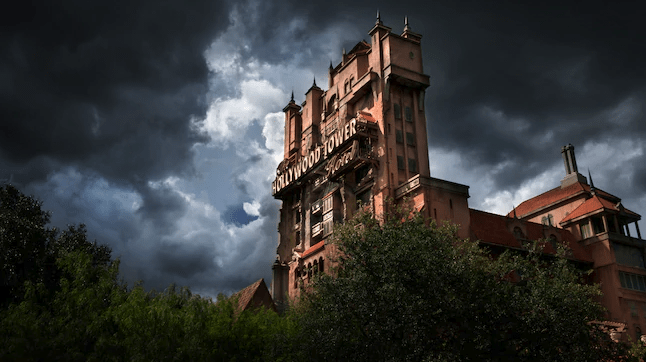 Twilight Zone Tower of Terror at Disney Hollywood Studios