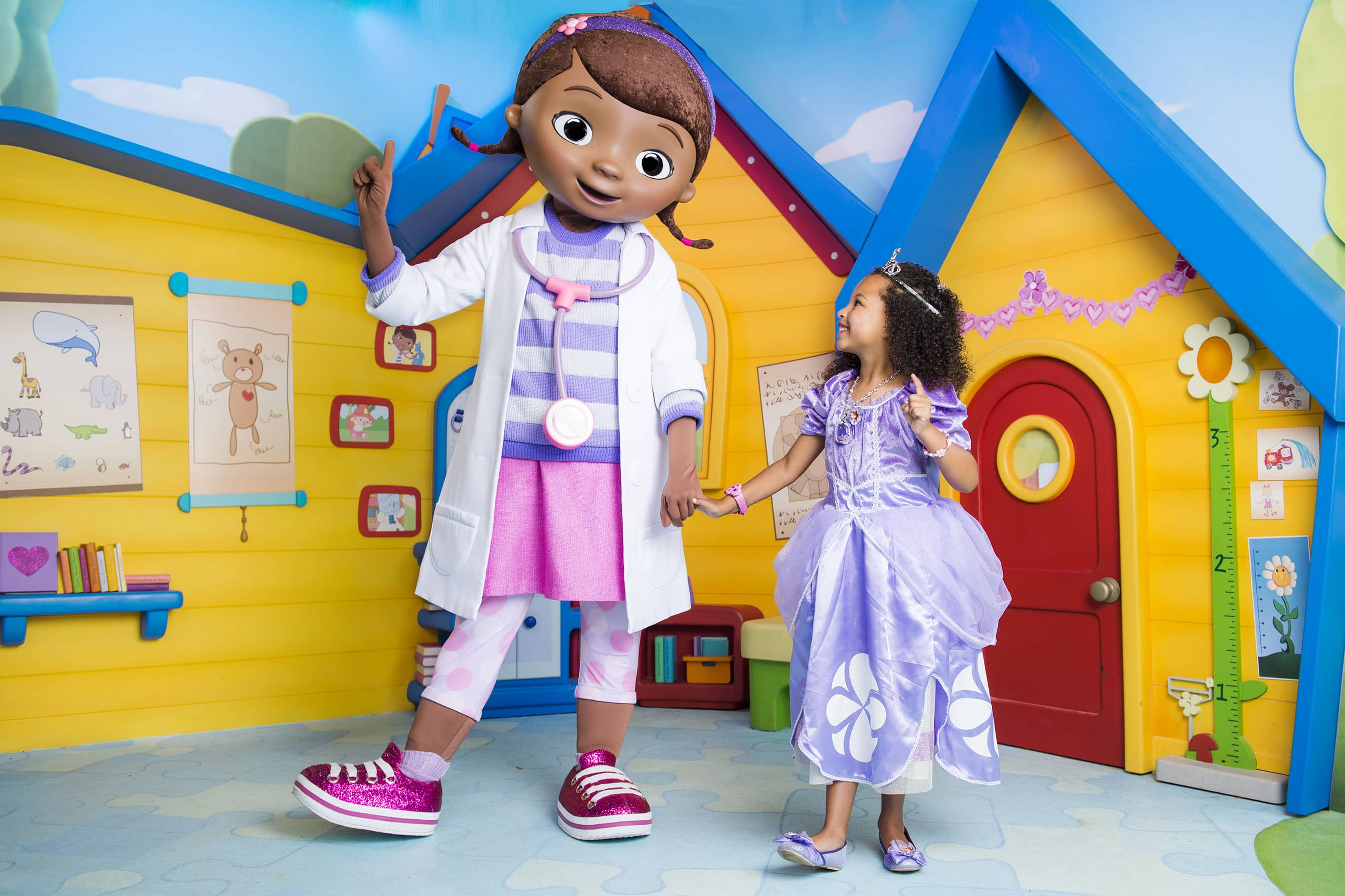 Characters like Doc McStuffins will star in the new Disney Junior Dance Party! at Disney's Hollywood Studios