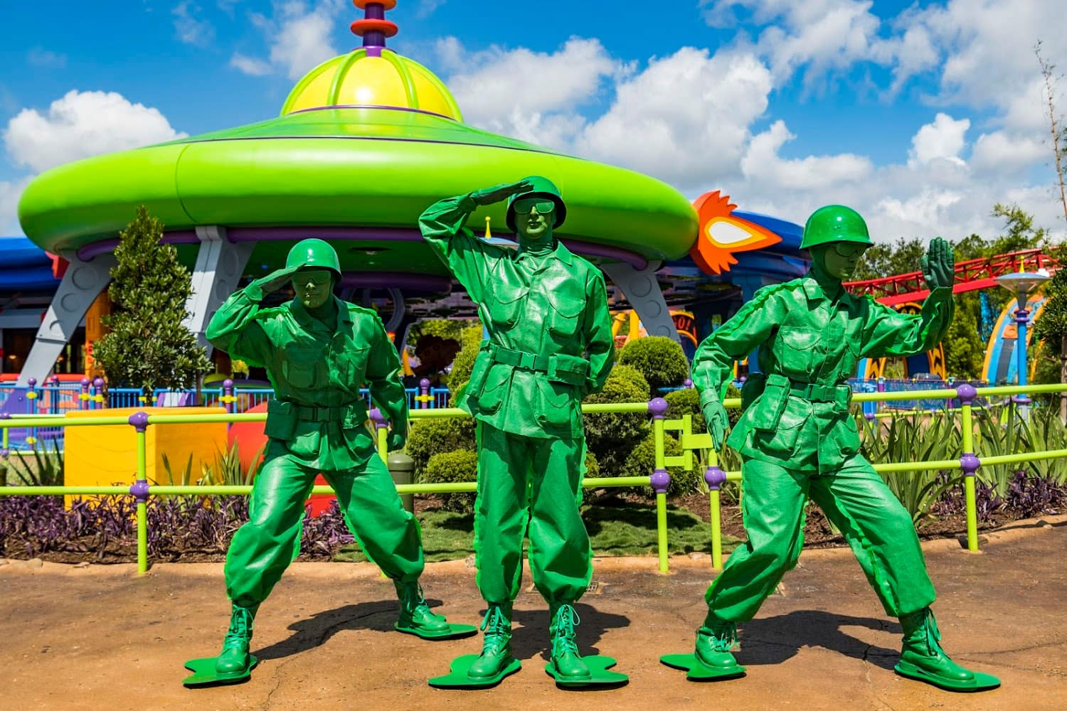 Green Army Men at Disney's Hollywood Studios for Kids
