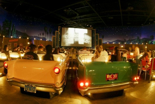 Sci-Fi Dine-In Theater Restaurant at Disneys Hollywood Studio with Kids