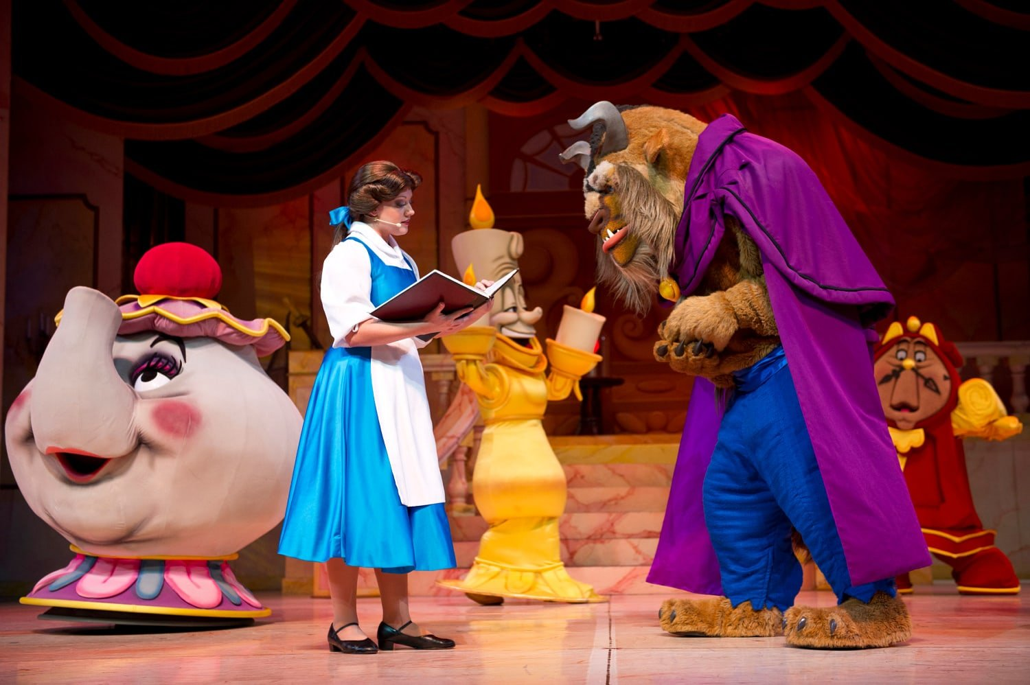 Beauty and the Beast - Live on Stage at Disney Hollywood Studios with Toddlers