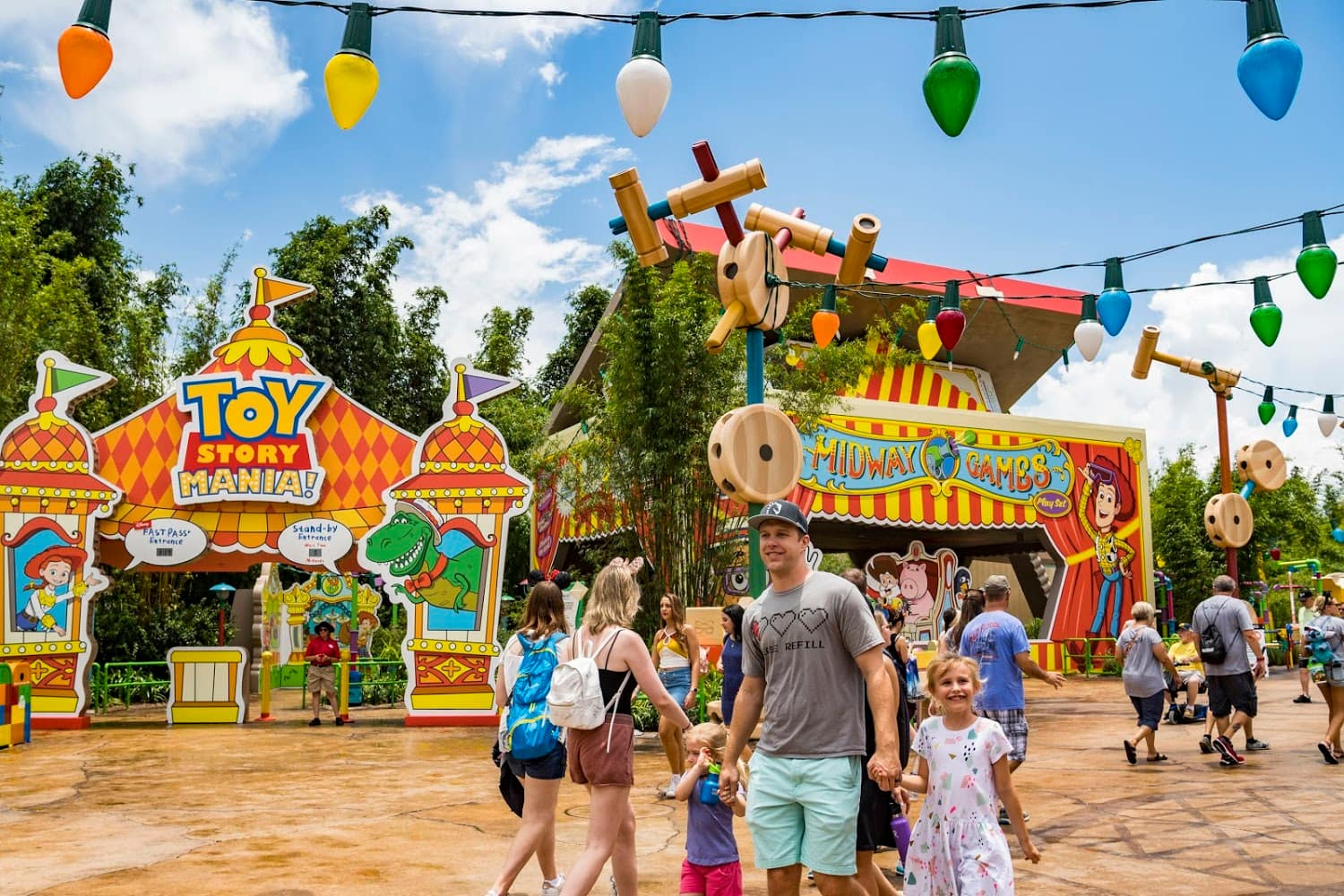 Toy Story Land at Disney's Hollywood Studios delights young children
