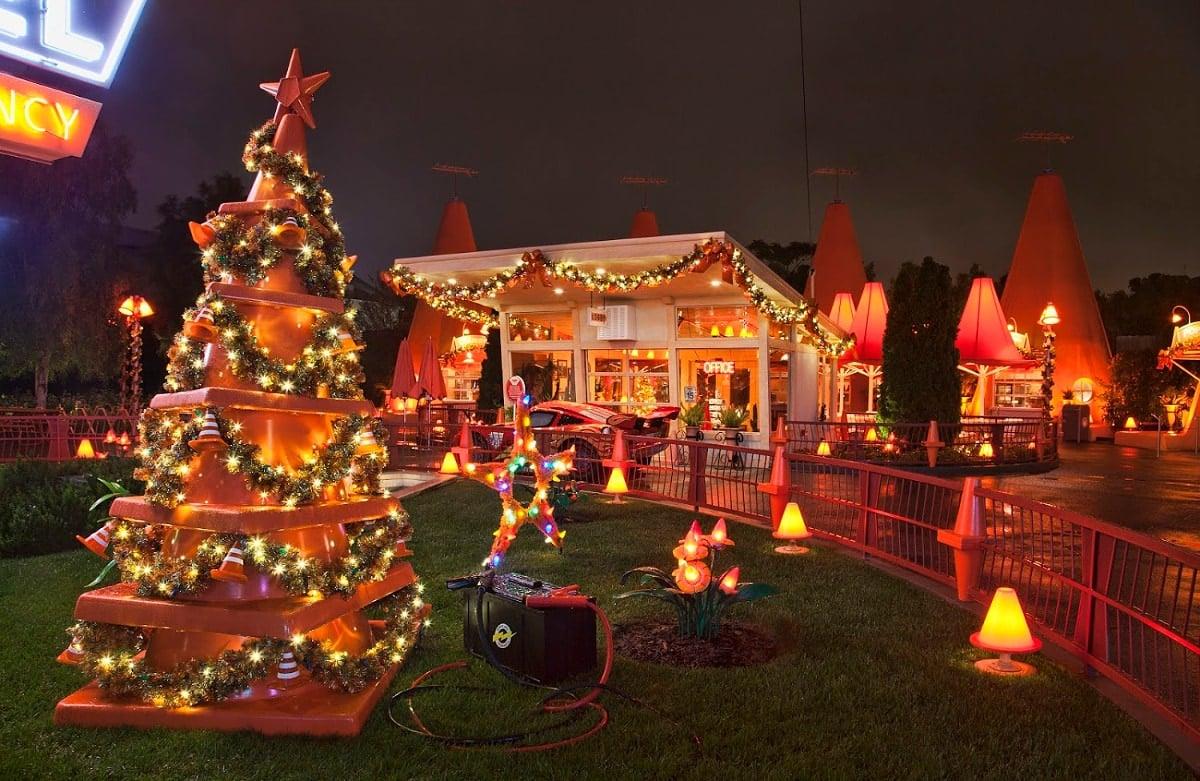 New Year's Eve at Cars Land at Disney California Adventure Park