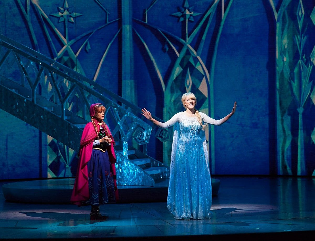 Frozen - Live at the Hyperion is one of the many live entertainment option available at Disney California Adventure on New Year's Eve