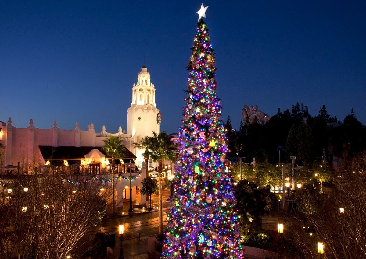 Disney California Adventure is a festive place to celebrate New Year's Eve with kids, or without!