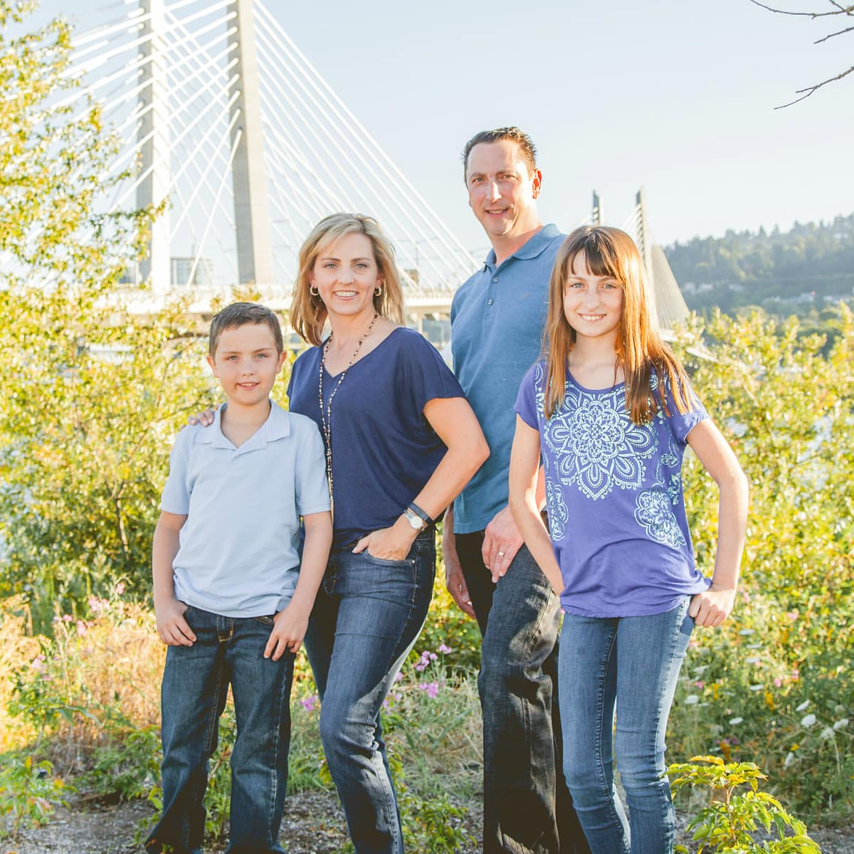 The Travel Mama Colleen Lanin and Family