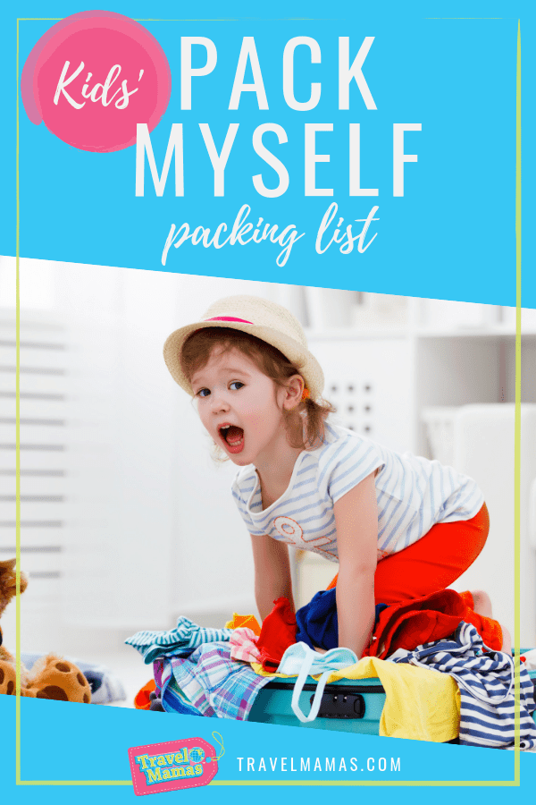 Kids Pack Myself Packing List