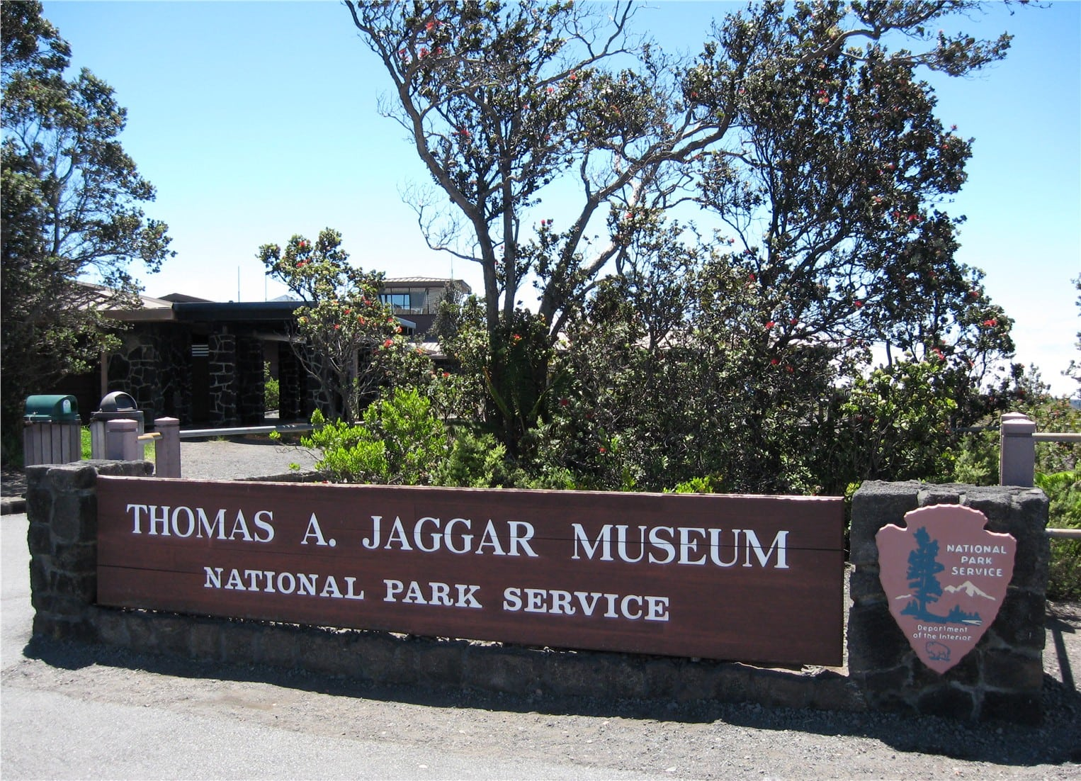 The Jaggar Museum at the Kilauea summit is closed indefinitely