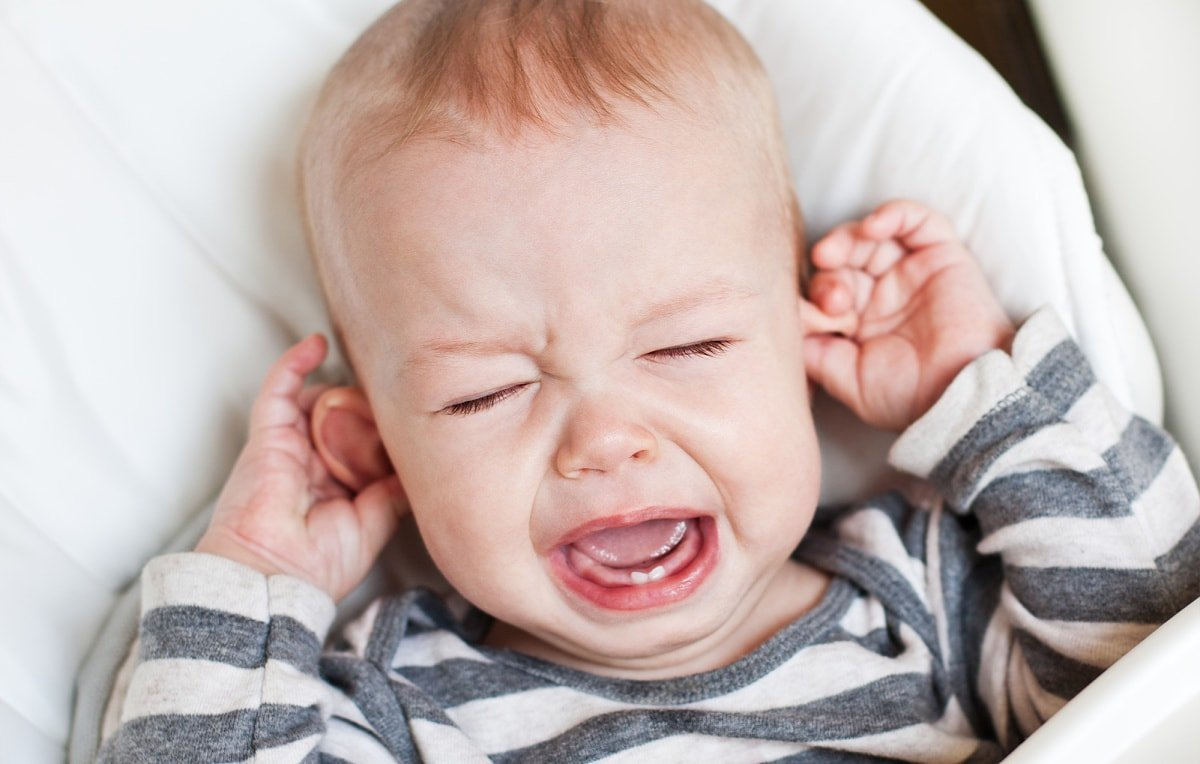 Changes in cabin pressure cause ear pain for many babies and toddlers