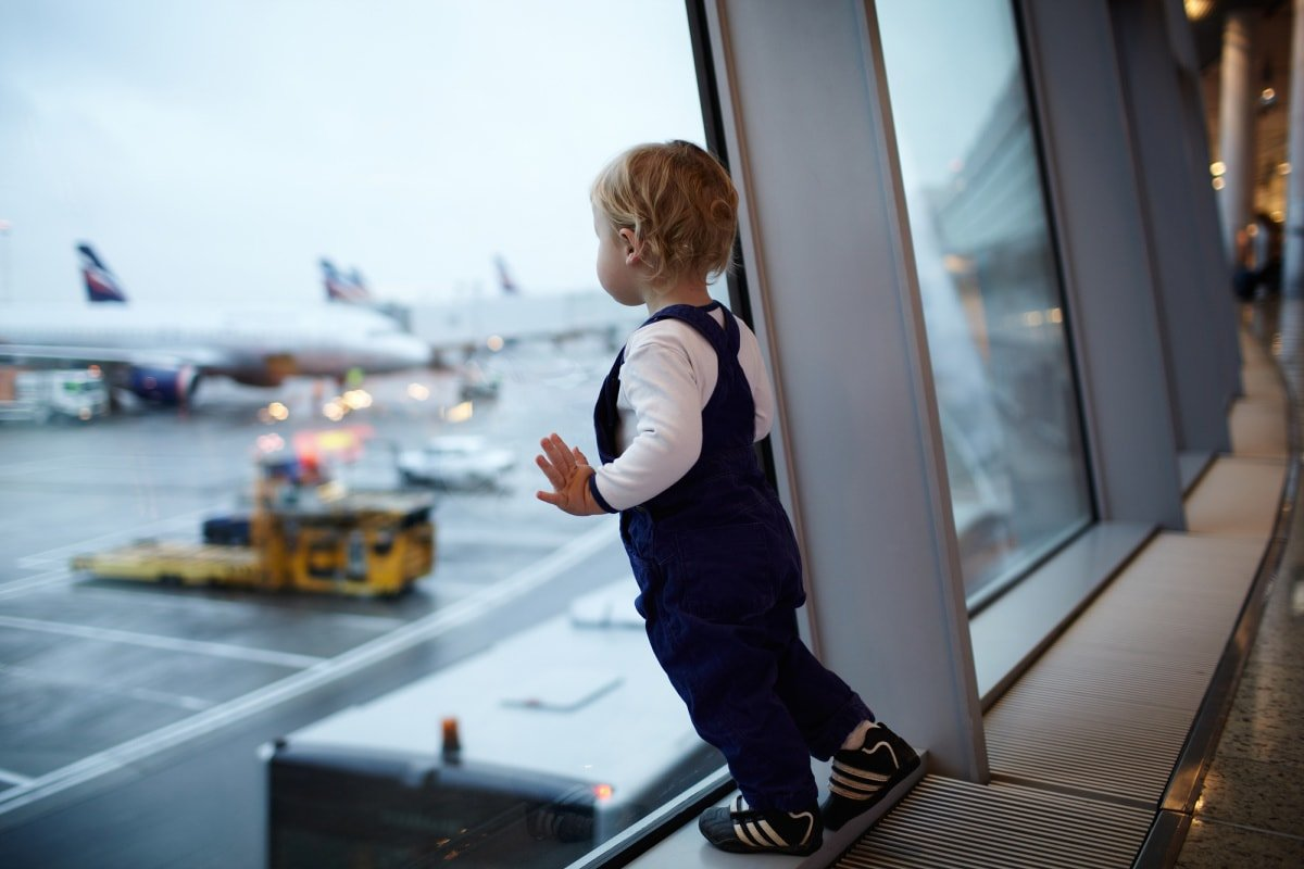 A longer layover gives families more time to reach the gate and take care of the baby's needs