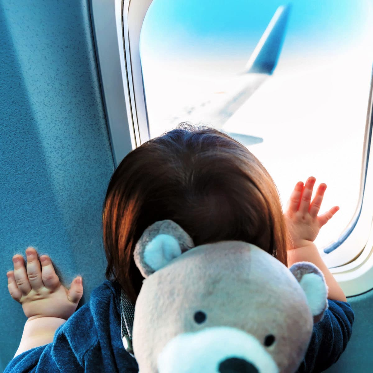 Flying with a Baby or Toddler ~ 15 Tried and True Tips