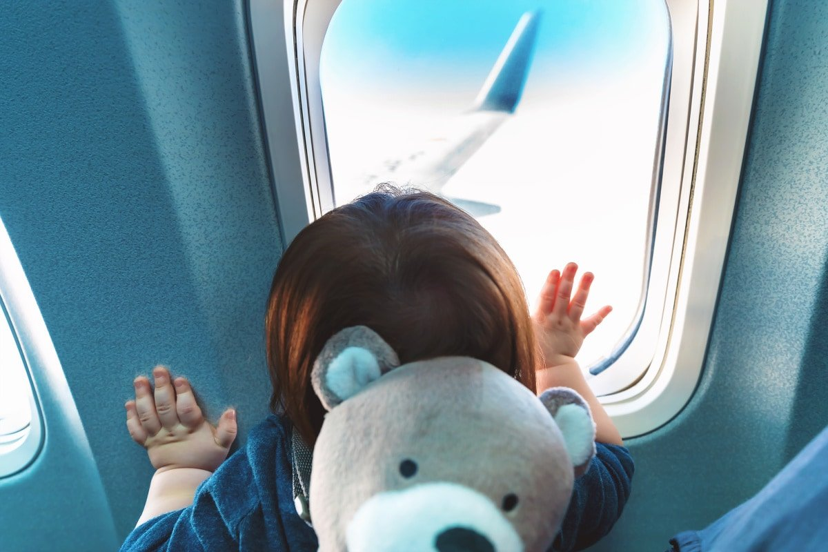 Flying with a baby or toddler is easier when you follow these tips