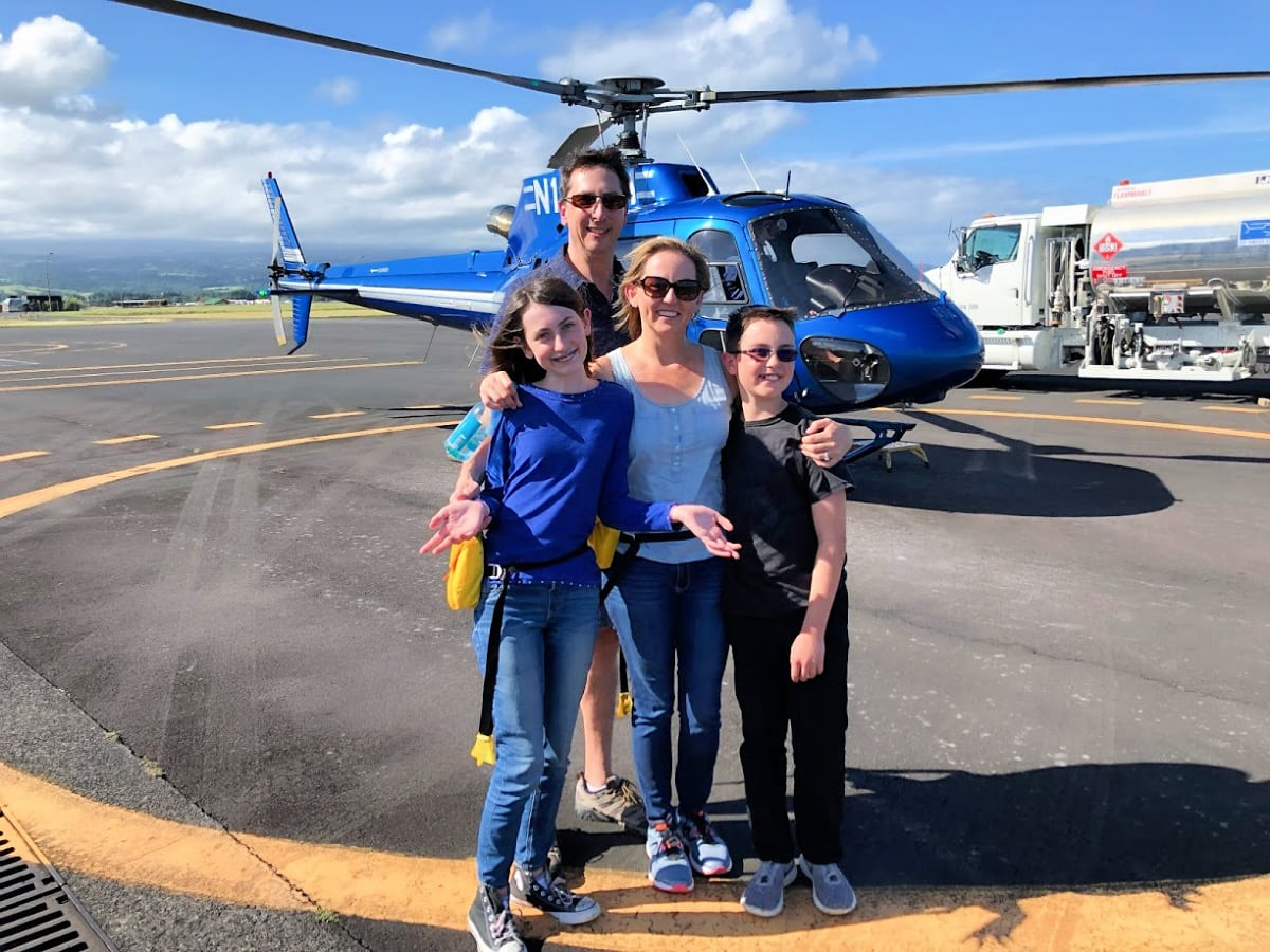 My entire family loved our Hawaiian helicopter tour