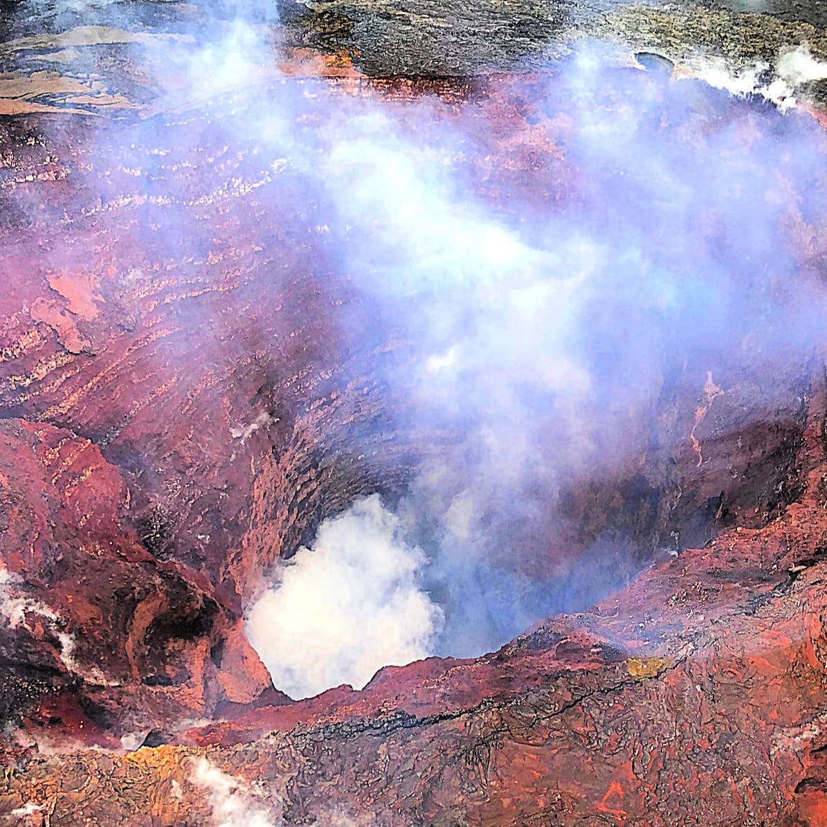 Hawaii Volcanoes National Park with Kids by Helicopter and by Land