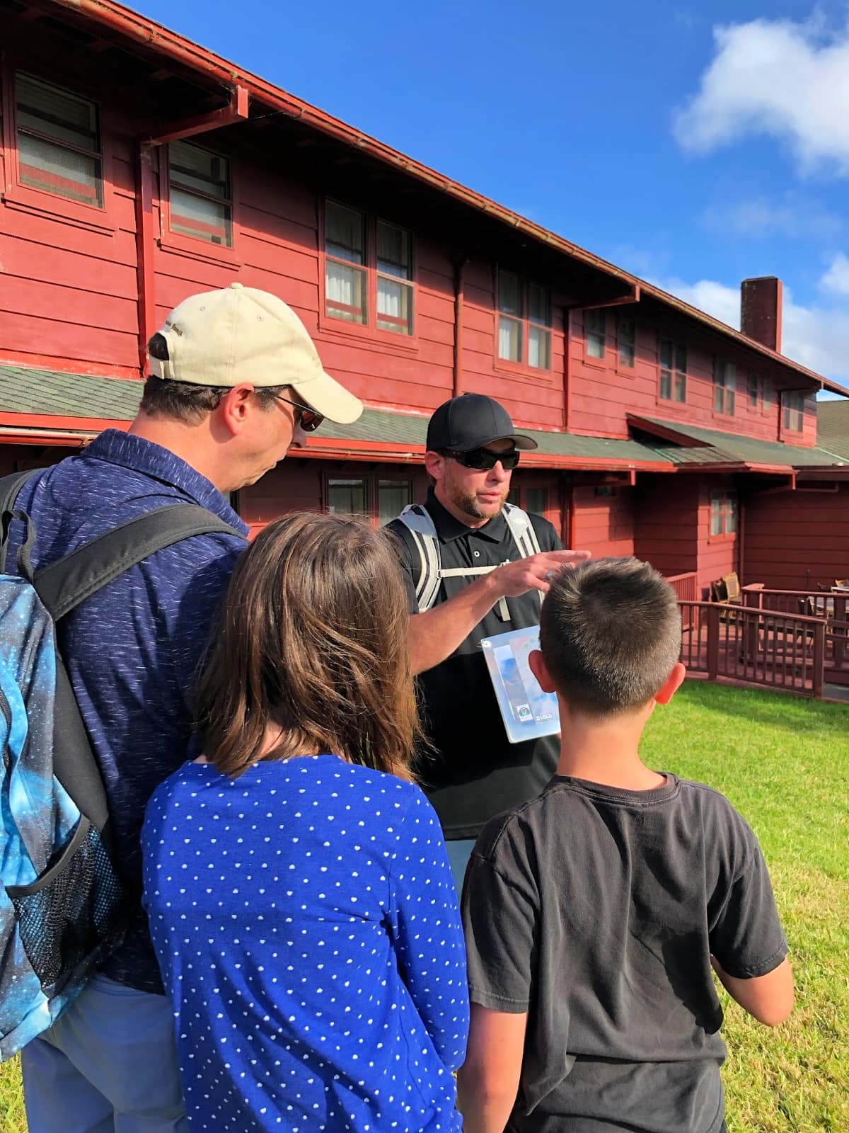 Our guided walking tour of Hawaii Volcanoes National Park with kids