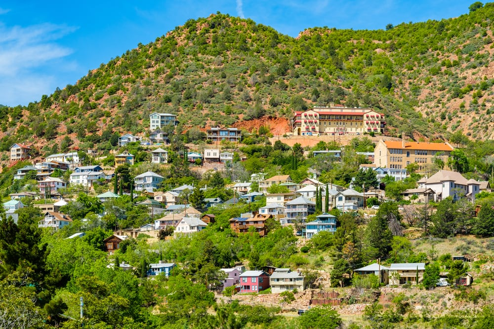 Jerome, Arizona from a distance