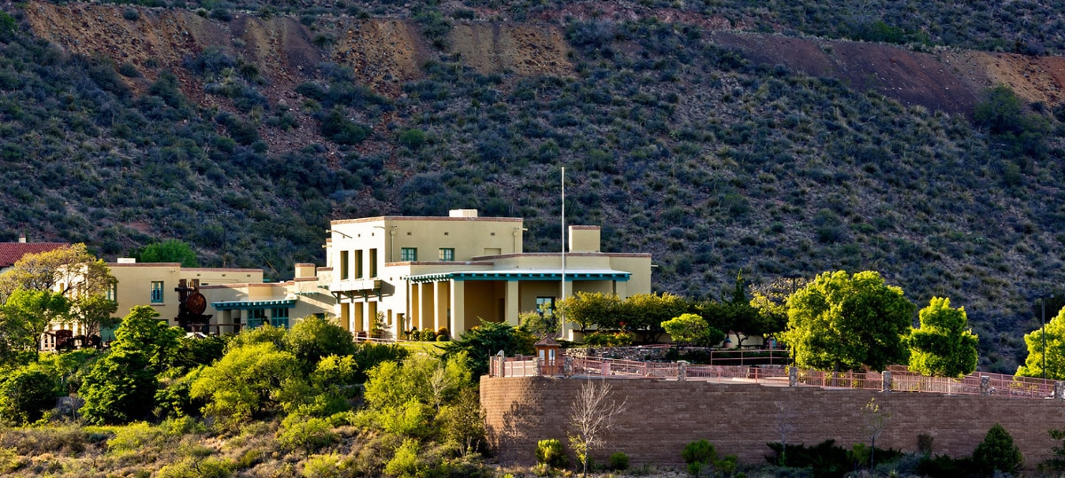 Douglas Mansion is the centerpiece of Jerome Historic State Park