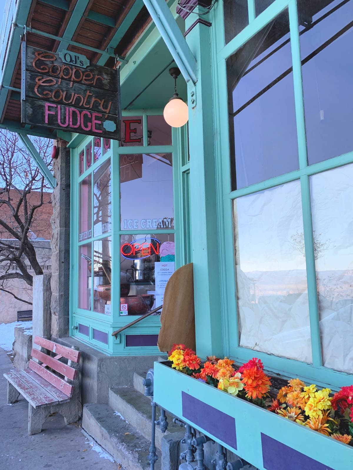 OJ's Copper Country Fudge is a favorite stop for families in Jerome, AZ