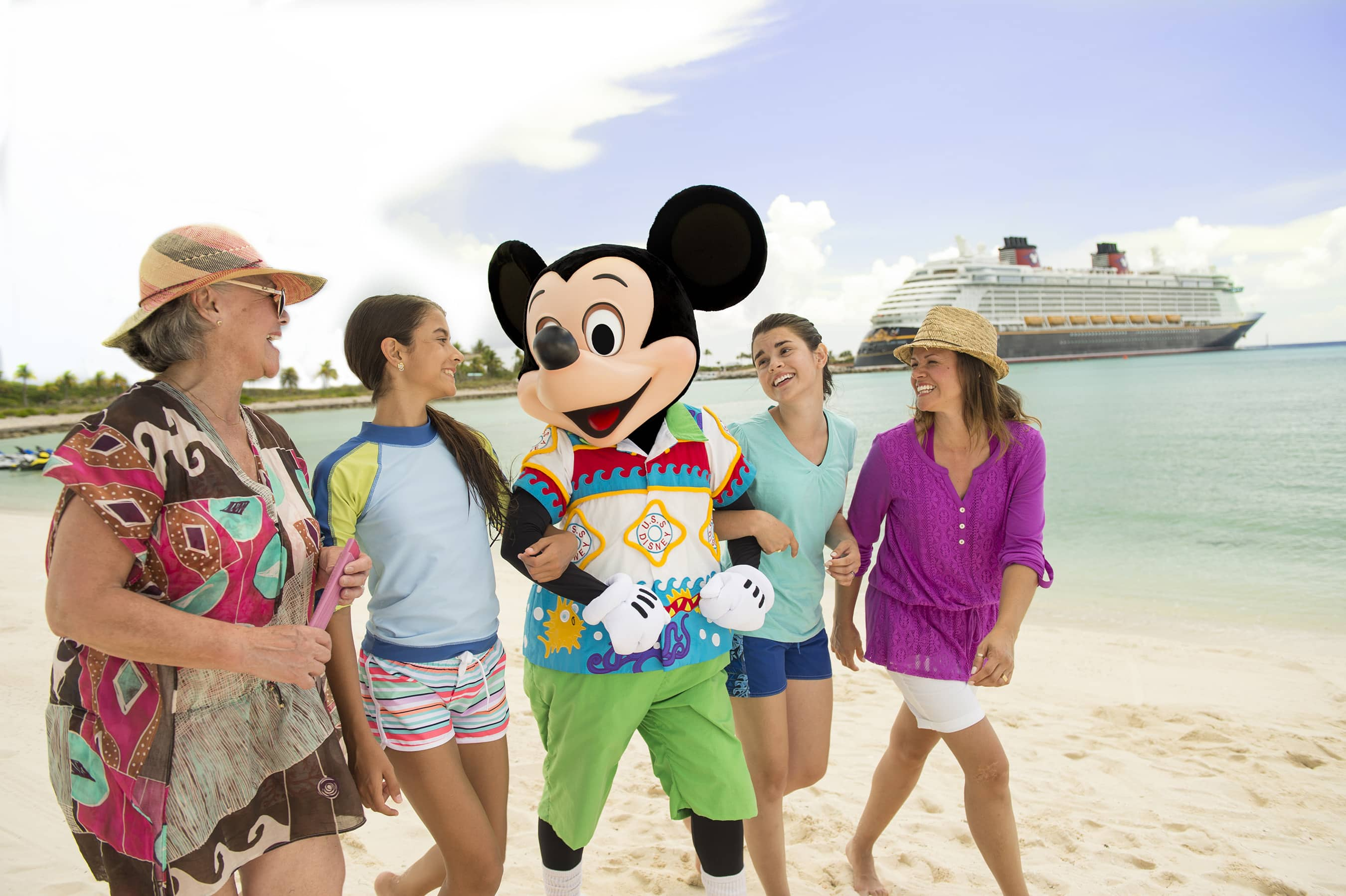 Opportunities for fun for all ages abound on Castaway Cay
