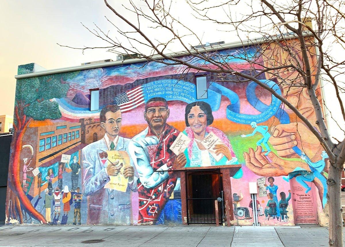 Street art is plentiful in Albuquerque