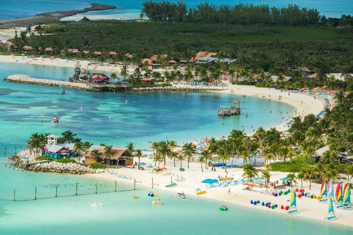 Family Beach on Castaway Cay