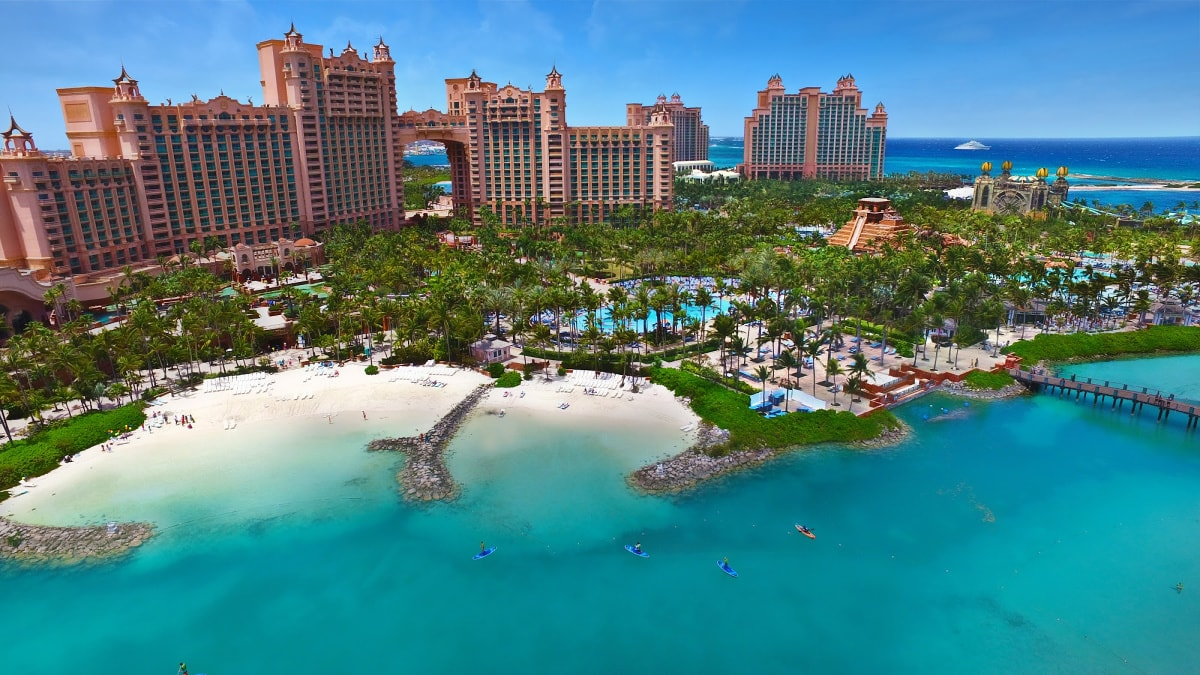 There's so much to explore at Atlantis Bahamas with kids!