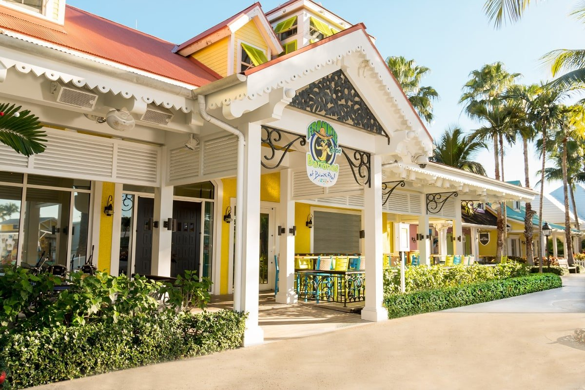 Taste the flavors of the Caribbean at Frankie Gone Bananas at Atlantis Bahamas with kids
