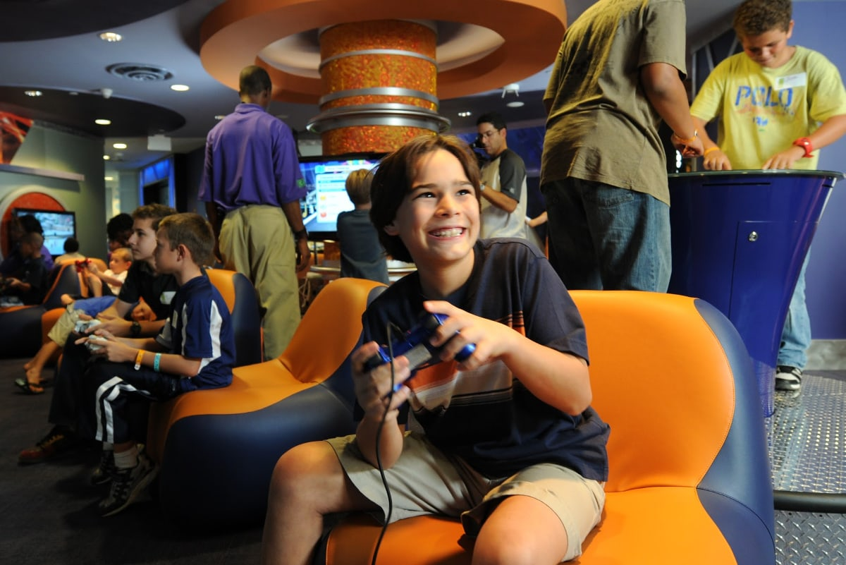 Atlantis Kids Adventure keeps children content with video games galore and so much more