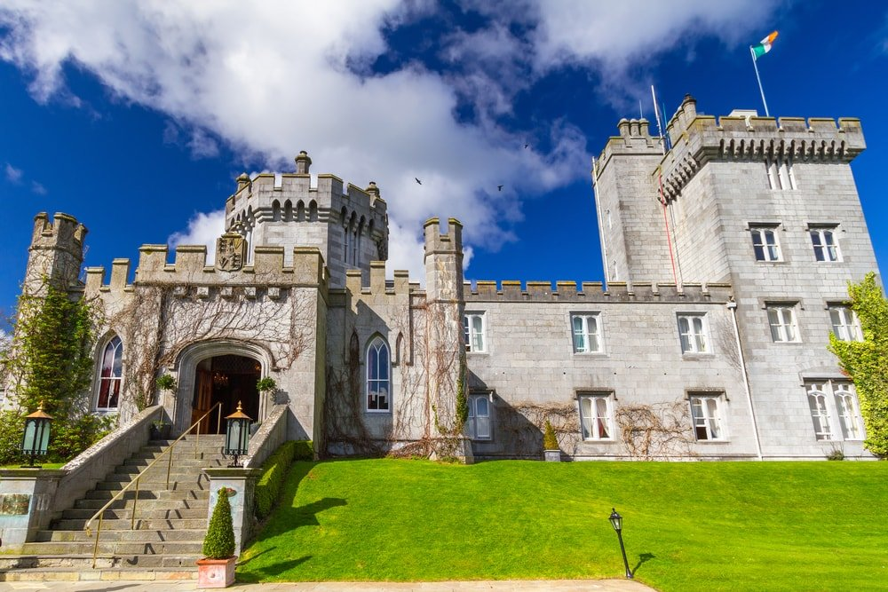 Dromoland Castle in County Clare in Ireland with kids