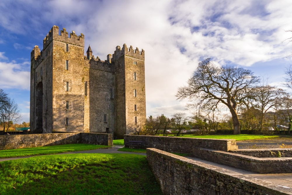Bunratty Castle in County Clare - a fun attraction for families in Ireland