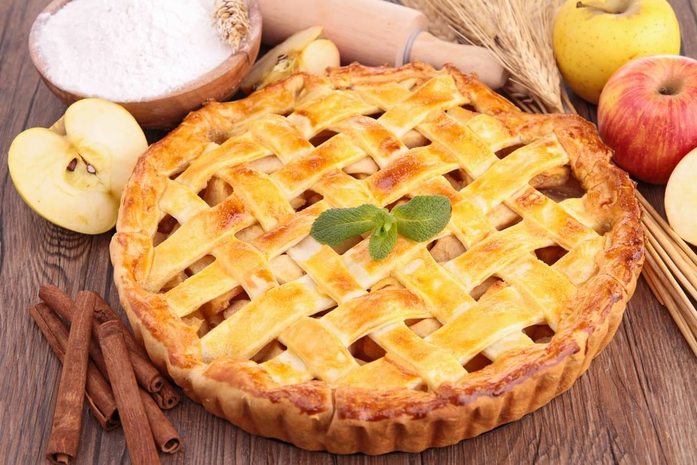 Discover where apple pie was invented!