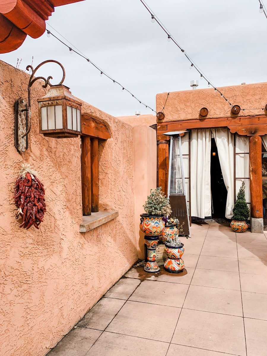 The darling Farm and Table Restaurant in Albuquerque, NM