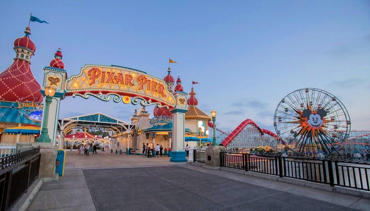 Pixar Pal-A-Round at Pixar Pier