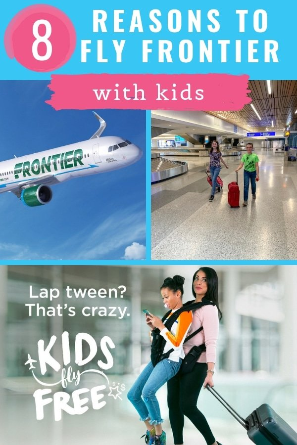 Why to Fly Frontier Airlines with Kids