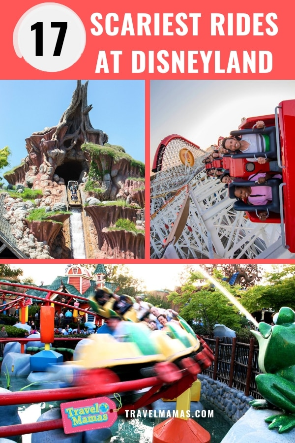Scariest Rides at Disneyland Ranked for Families with Kids