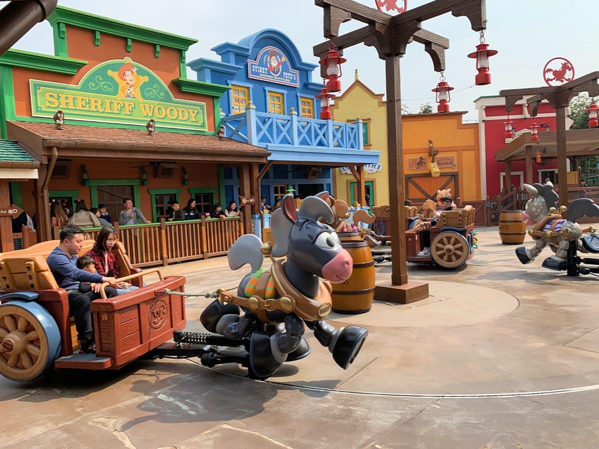 Woody's Roundup at Shanghai Disneyland