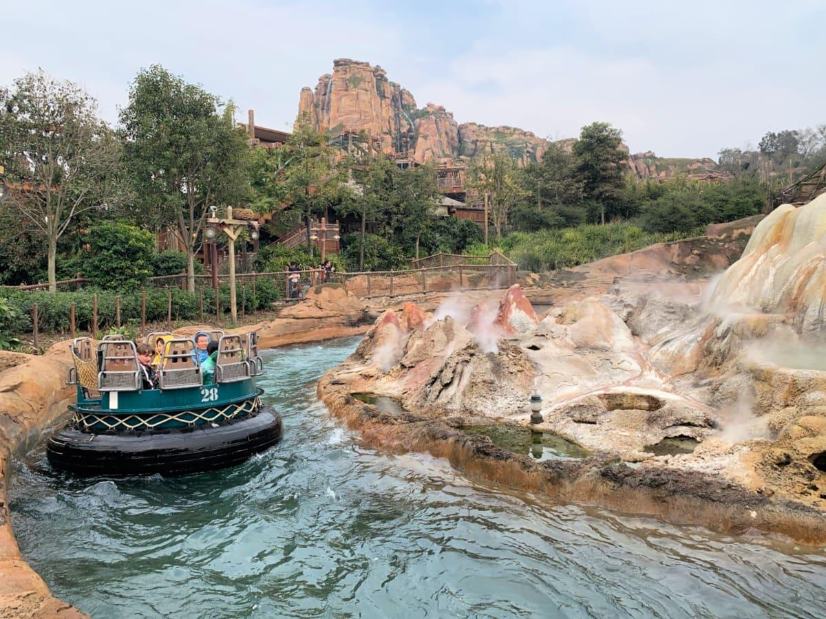 Roaring Rapids, Shanghai Disneyland