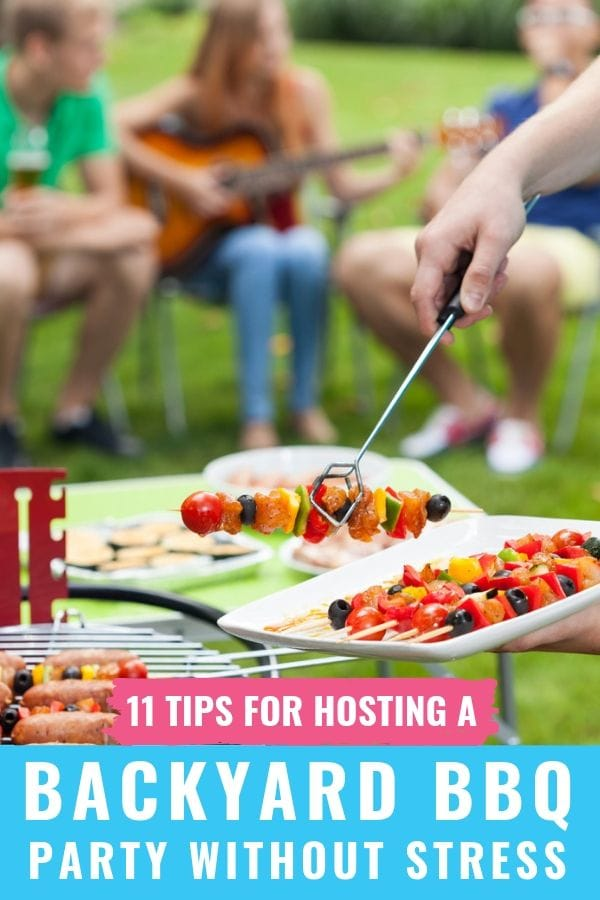 11 Tips for Hosting a Backyard Barbecue that Impresses Guests without Stress