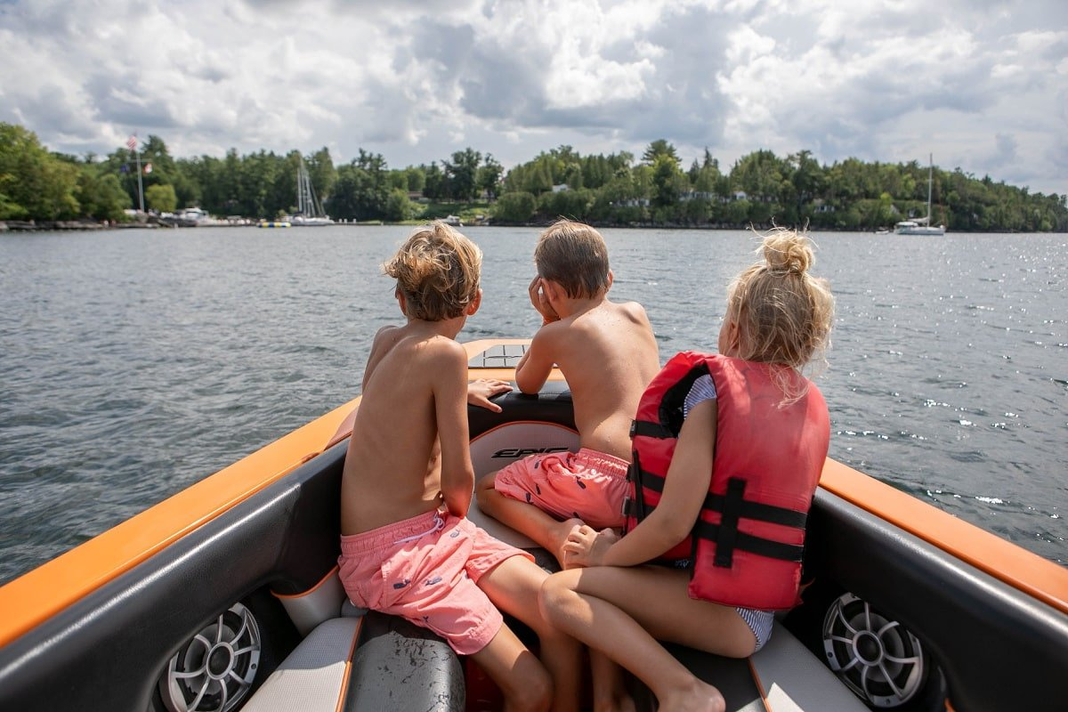 Basin Harbor Club on the shores of Lake Champlain with kids