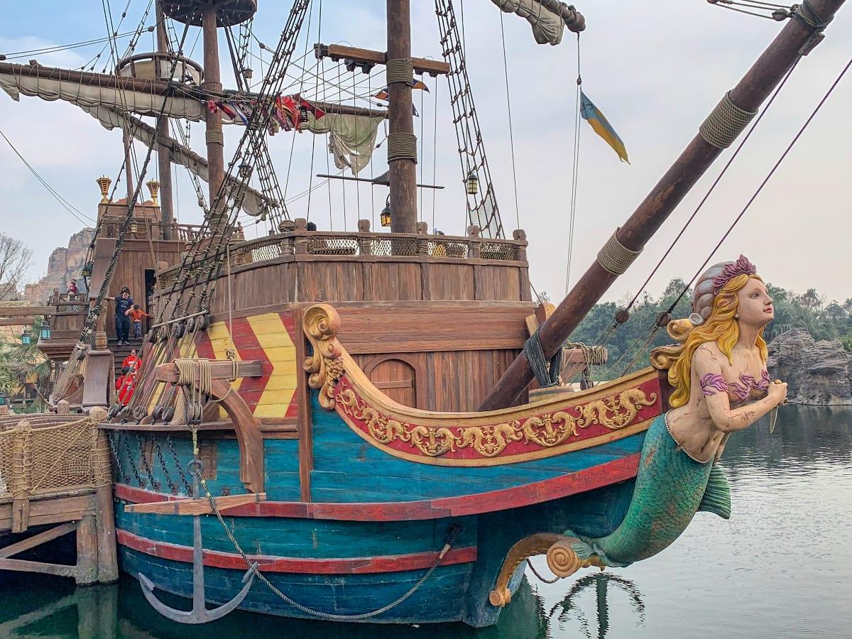 Siren's Revenge at Shanghai Disneyland