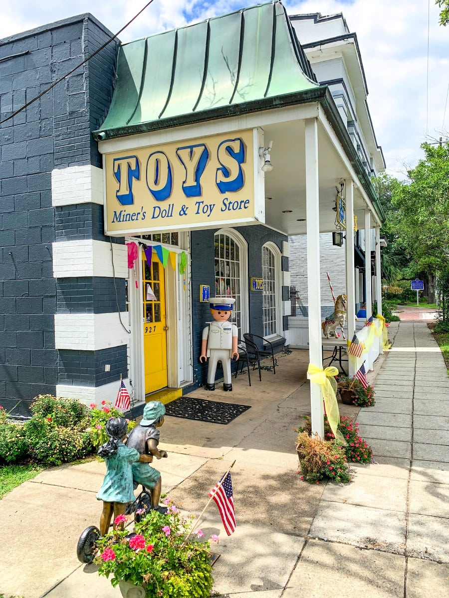 Miner's Doll & Toy Store in Ocean Springs, Mississippi