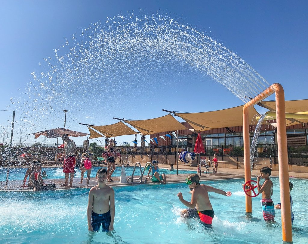 McDowell Mountain Aquatic Center in Scottsdale with kids