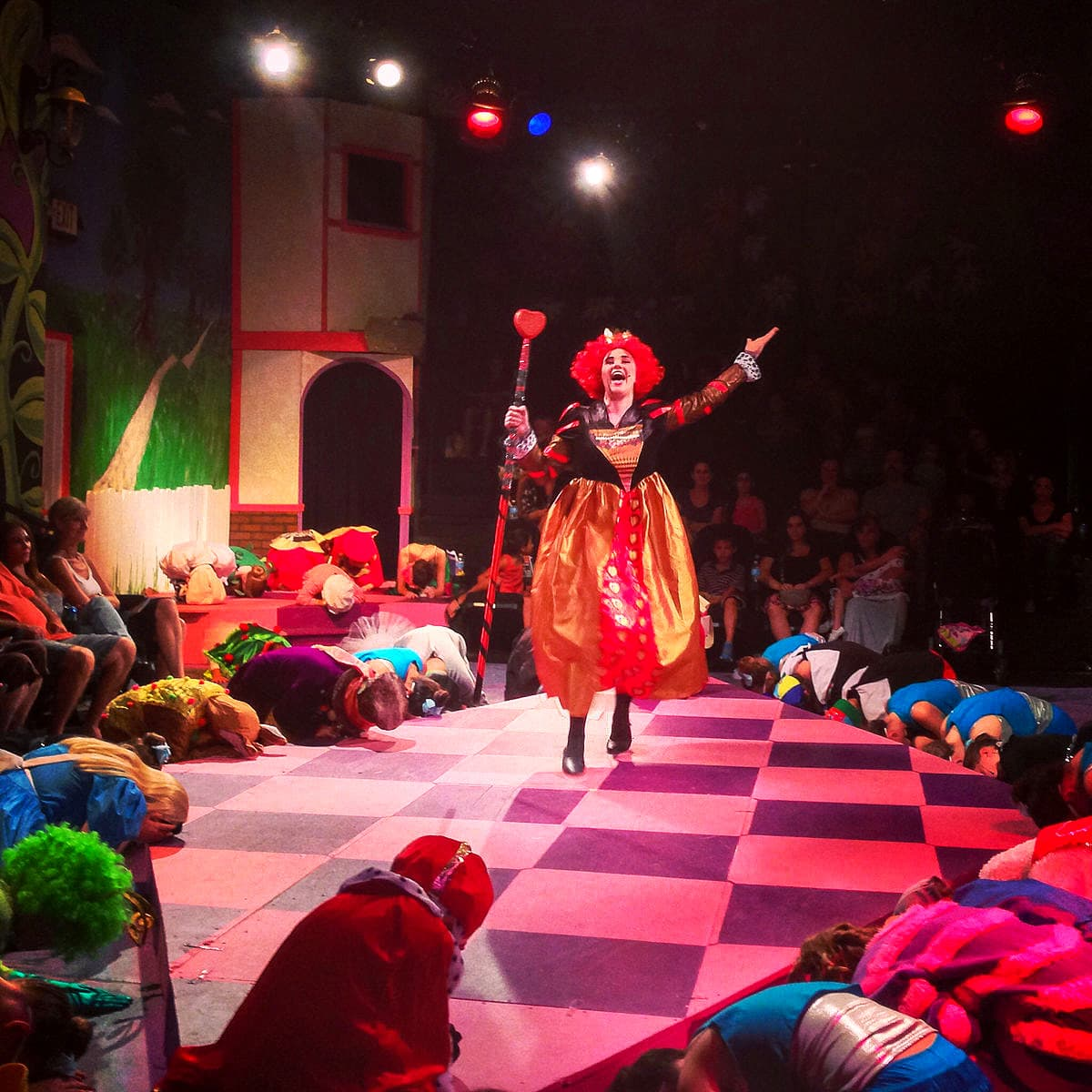 Alice in Wonderland production at Desert Stages Theatre