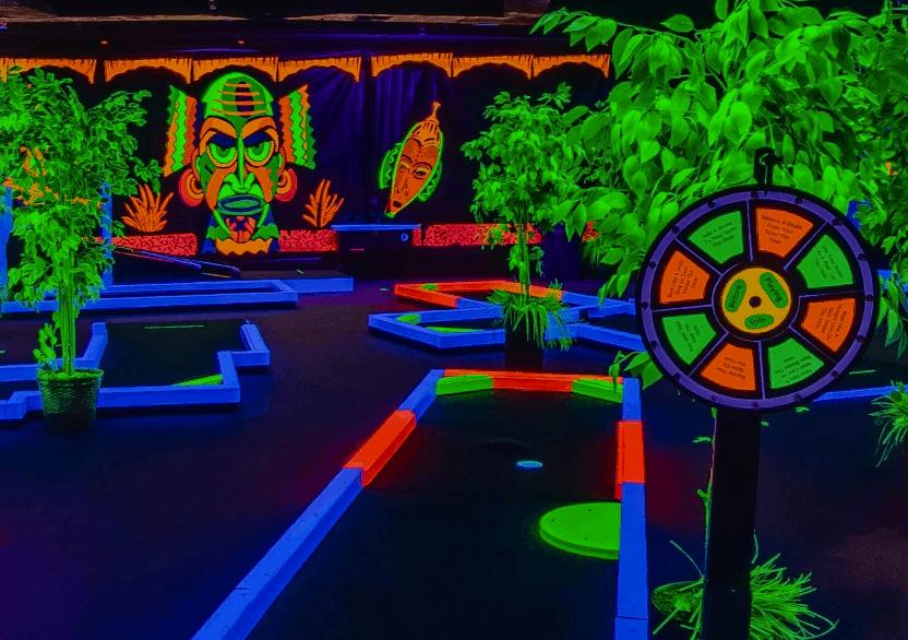 Glow Putt Mini Golf in Scottsdale, AZ
